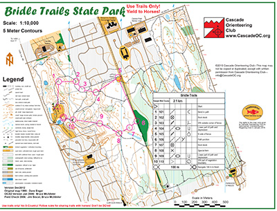 Bridle Trails State Park map preview